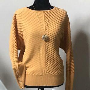 Alfani Dome Sleeve Sweater